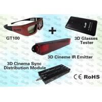 Wholesale 3D Cinema Solution for 300~1000 seat cinema with 3D IR Emitter and 3D IR Glasses from china suppliers