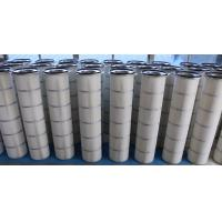 Wholesale Three-lugs dust collector filter cartridge for wood processing and pigment industry from china suppliers