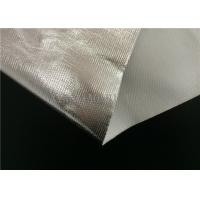 Wholesale SGS Certificated Aluminum Foil Coated Fiberglass Fabric Single Side Coating from china suppliers