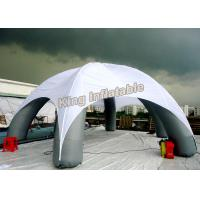 Wholesale PVC Spider Inflatable Event Tent Frame Posts With White Printed Roof from china suppliers