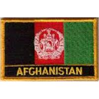 Wholesale Afghanistan Embroidered Flag Patch Iron on or Sew on from china suppliers