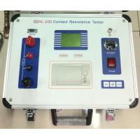 Wholesale GDHL-200 200A Contact Resistance Mircro Ohmmeter from china suppliers