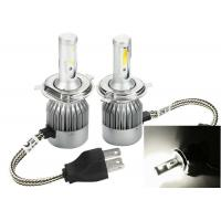Wholesale Pure White 6000K C6 Bright LED Headlight Bulbs Conversion Kit H4 36W 3800LM from china suppliers