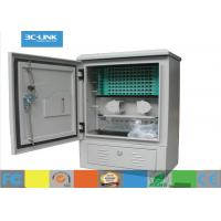 Wholesale WaterProof Outdoor Street Pedestal Optical Distribution Box 144 CORES With Pedestal Mounted from china suppliers