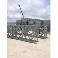 Wholesale Hot Dip Galvanized Bailey Bridge Panel Modular Panels For Temporary Steel Bridge from china suppliers