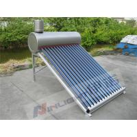Wholesale Hospital Use Solar Water Collectors , 14 Tubes Evacuated Tube Collector Solar Water Heater from china suppliers