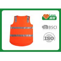 Wholesale Security Safety Vest High Visibility , Reflective Safety Vest Orange Color from china suppliers