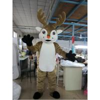 Wholesale Custom Adults Reindeer Animal Mascot Costume  from china suppliers