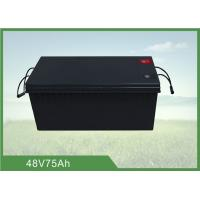 Wholesale 48V 75AH Battery Energy Storage System over 1500 cycles @ 100% DOD from china suppliers
