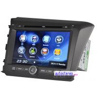 Wholesale 8 Inch Multi-language Autoradio for Honda Civic GPS Sat Navigation System from china suppliers
