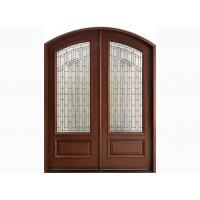 Wholesale Eco-friendly 40mm Exterior Timber Doors with Locks , Handles from china suppliers