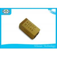 Wholesale Lightweight Tantalum Polymer Capacitor , 0.47uF Tantalum Capacitor Case C from china suppliers