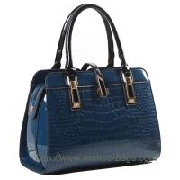 Wholesale Fashion Blue Snake PU Leather ladies bag (MH-6040) from china suppliers