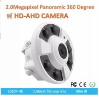 Wholesale Outdoor Rated 360 Degree Fisheye Ip Camera 30m IR Ceiling HD AHD Camera from china suppliers