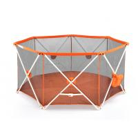 Wholesale Mesh Adjustable Baby Safety Fence Foldable For Childrens / Crib from china suppliers