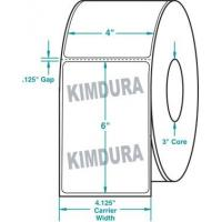 "Wholesale Thermal Transfer White Kimdura Roll Labels White 4"" x 6"" from china suppliers"