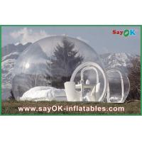 Wholesale Large Outdoor Inflatable Tent Bubble Transparent Inflatable Camping Tent For 2 Man from china suppliers