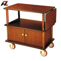 Wholesale Japanese Style Service Cart with Cabinet from china suppliers