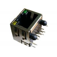 Wholesale XRJM-S-01-8-8-1 RJ45 Single Port Modular Jack Shielded Right Angle from china suppliers