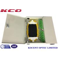 Wholesale Double Doors KCO-WTB-24A Wall-mountable Fiber Optic Terminal Box 24ports With SC/APC Pigtail from china suppliers