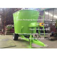 Wholesale Efficient Green Animal Vertical TMR Mixers With Weighting System from china suppliers