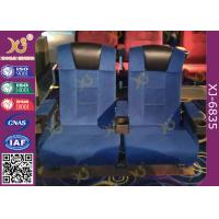 Wholesale High Back Heavy Spring Movie Theater Seating Chairs With Plastic Cupholder from china suppliers