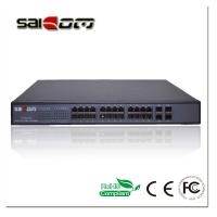 Wholesale 1000m 4SFP Slots+24Gig PoE Ports Ethernet Switch from china suppliers