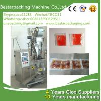 Wholesale Small sachet 1-50ml tomato sauce packing machine, tomato sauce vertical packaging machine from china suppliers