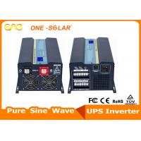 Quality 12V / 24V Pure Sine Wave Off Grid Inverter With LCD Display With Multi-Function for sale