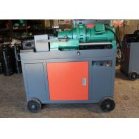 Quality Peeling Rebar Thread Rolling Machine Portable Pipe Threading Machine 5.5KW for sale