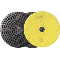 Wholesale 100mm 4 Inch Diamond Wet Resin Polishing Pads High Efficient disc from china suppliers