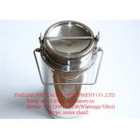 Wholesale 20 Liter Capacity Stainless Steel Milk Bucket , Milk Drum Milk Can from china suppliers