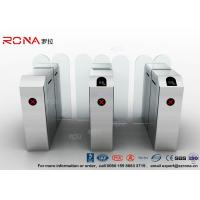 Wholesale Fastlane Turnstile Remote Control Access Control Turnstiles Tempered Glass Sliding from china suppliers