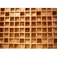 Wholesale Simple Wooden Acoustic Diffuser Panel With BD New Pattern , L1200 * W600mm from china suppliers