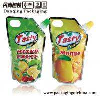 Aluminum Foil Stand Up Spout Pouch Juice Packaging With Injection Hole