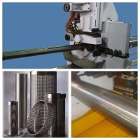 Wholesale Wedge Wire Screen Cylinders Stainless Steel Welded Wire Mesh Machine White Adjustable Slot from china suppliers