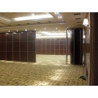 Wholesale Sliding Room Dividers For Banquet Hall with Acoustic Leather Soft Cover Surface from china suppliers