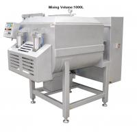 Wholesale 380V / 50Hz Voltage 1000L Electric Meat Mixer Machine 7.1KW / 9.1KW Power from china suppliers