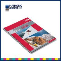Wholesale Glossy coated art paper Spiral Bound Book Printing , colour book printing from china suppliers