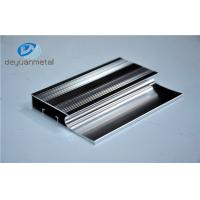 Wholesale 6463-T5 Polishing Aluminum Extrusion Profiles Products With Silver Color from china suppliers