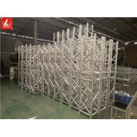 Wholesale 390 x 390 Customized Length Aluminum Spigot Truss Shiny Silver Truss System from china suppliers
