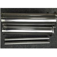 Wholesale Q25 Support Rod Wedge Wire Screen Cylinders Large Diameter With 12S Wedge Profile Wire from china suppliers
