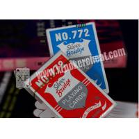 Wholesale Custom Casino Gambling Props Silver Plastic Bridge Playing Cards , ISO9001 from china suppliers