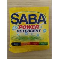 Wholesale detergent powder 15gram saba from china suppliers
