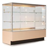 Wholesale Custom Portable Jewelry Showcases , Jewelry Store Display Cases For Necklace from china suppliers