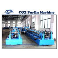 Wholesale Customized Rollforming Machine For Cee Purlin and Zee Purlin from china suppliers