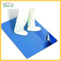 Wholesale Disposable Sticky Walk Off Mats , Polyethylene Tacky Floor Mats 26'' X 45'' from china suppliers