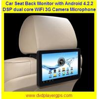 "Wholesale 10.1""Car Back Seat Monitor With WIFI,3G,Capacitive Touch Screen support 1080P from china suppliers"