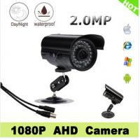 Wholesale Waterproof Bullet AHD CCTV IP Security Camera 36pcs Led 2.0MP 4mm Lens from china suppliers
