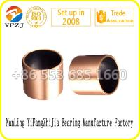 Wholesale Lead free du bushing Bi - metal casting bronze bushing with PTFE from china suppliers